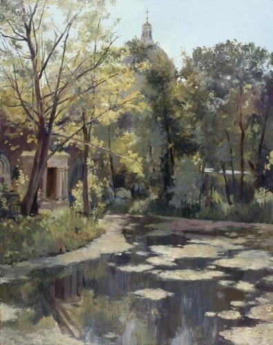 На Никольском кладбтще, Москвитин Ф. А.
