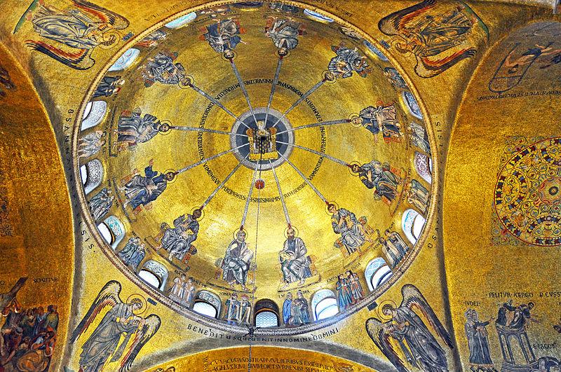 Купол собора св. Марка в Венеции, Сошествие Святого Духа