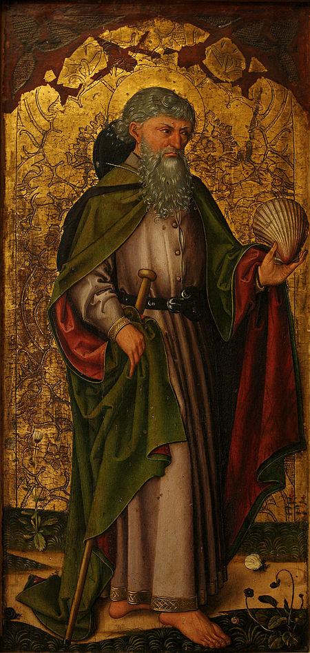 Апостол Иаков (неизвестный мастер, 1475 год)