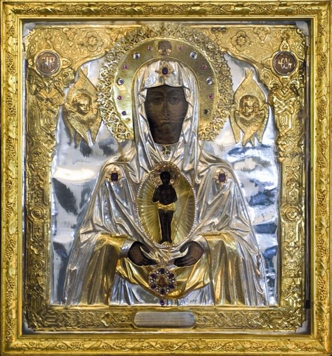 Албазинская икона Божией Матери в новом Благовещенском кафедральном соборе