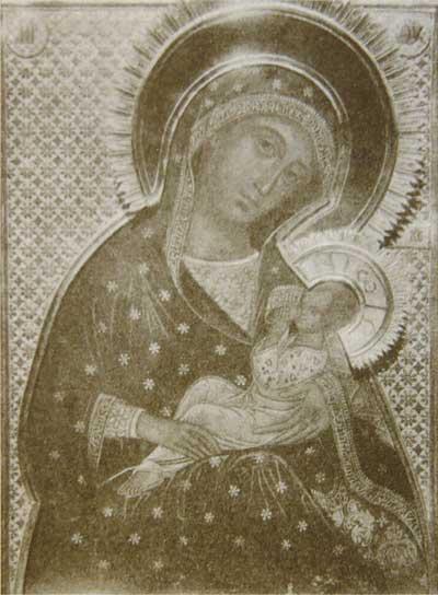фото иконы Блаженное Чрево 1910 год