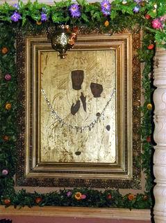 Цесарская-Боровская икона в Спасо-Преображенской церкви Усвят