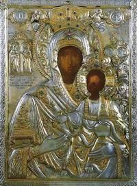 Чудотворная икона Пресвятой Богородицы Кукузелиса