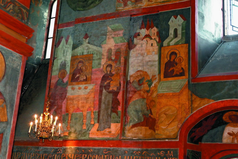 Сказания о Римской-Лиддской иконе Богоматери Смоленского собора Новодевичьего монастыря