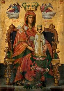 Неувядаемый Цвет, в Храме в честь иконы Божией Матери «Утоли моя печали»