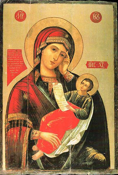 Утоли моя печали, из трапезной церкви Сергия Радонежского Троице-Сергиевой лавры, г. Сергиев Посад.