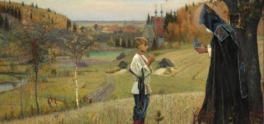Михаил Нестеров, Видение отроку Варфоломею
