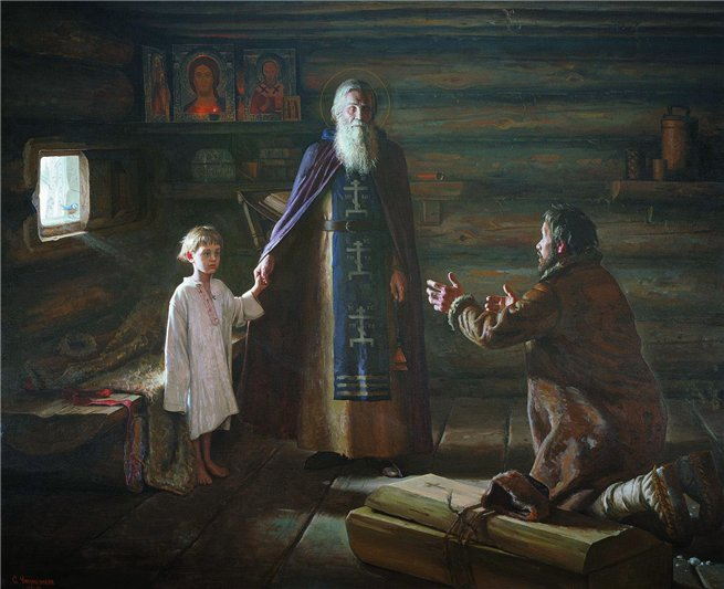 Сергей Чикуньчиков (род.  1972). Воскрешение отрока прп. Сергием