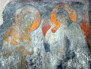 фреска из Успенского собора на Городке