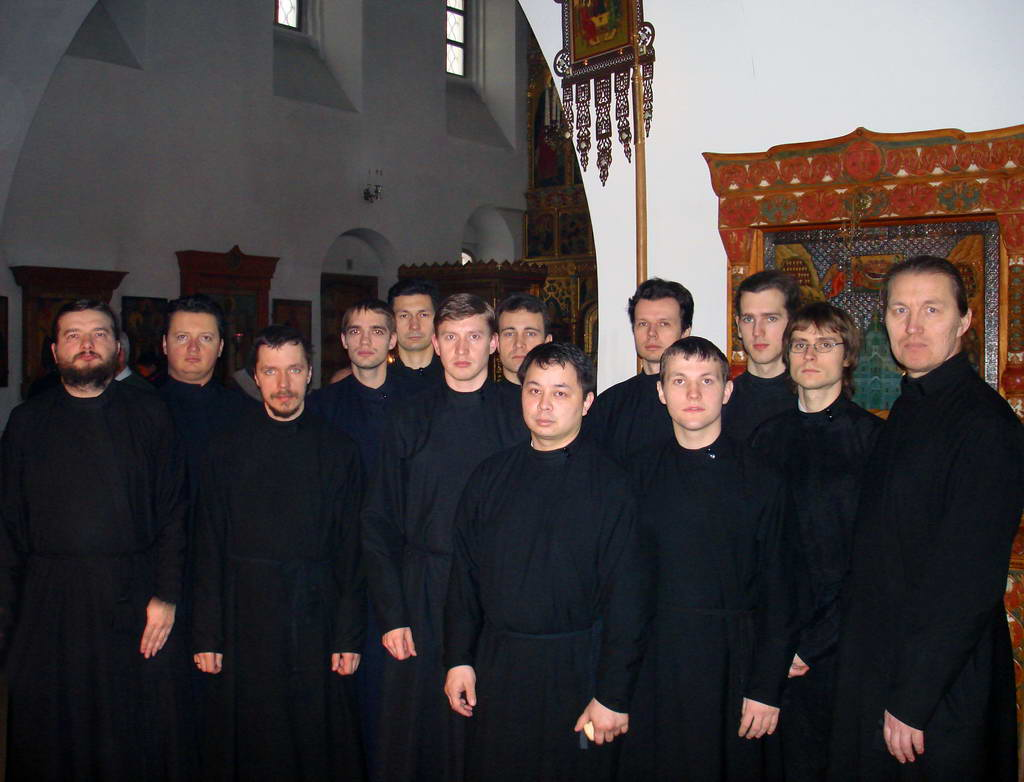 Благословение - Мужской любительский хор